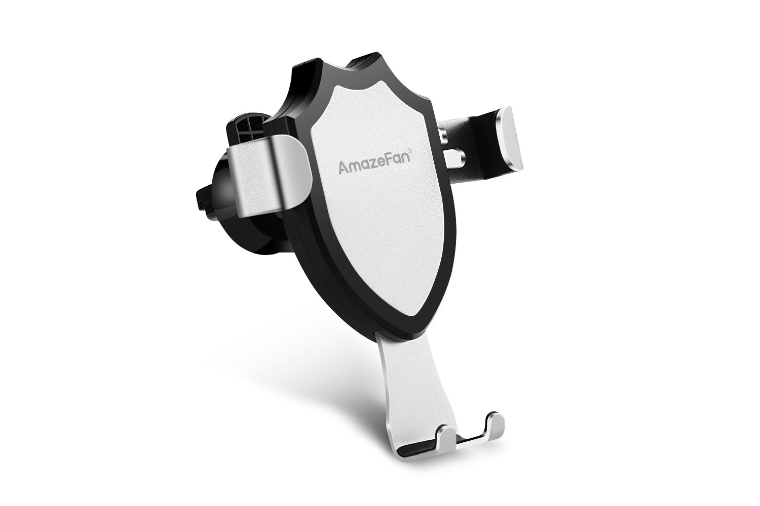 Standard Holder for iPhone Car Mount Holder AmazeFan Phone Holder for Samsung Galaxy S8 S8 Plus S7 S7 Edge S6 Edge Plus Note 5 Silver NbTech 17