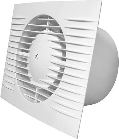 Badezimmer Abluftventilator 100 Mm 10 2 Cm Mit Feuchtigkeitssensor Und Timer Ventilator Mit Hygrostat Und Delay D100h Amazon De Baumarkt