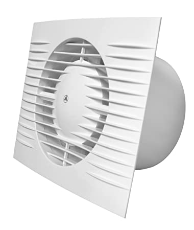 Badezimmer Abluftventilator 100 mm/10,2 cm mit Feuchtigkeitssensor ...