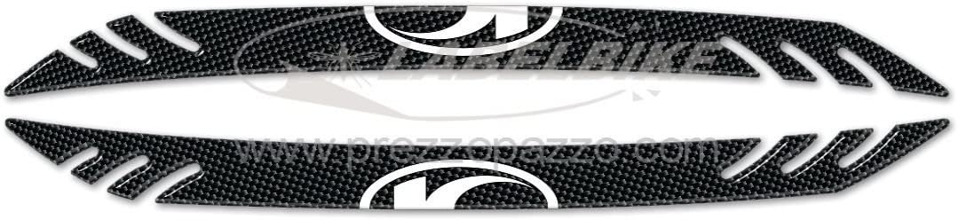 2 3D Gel Stickers Edge Protection XCITING 500 kompatibel f/ür Kymco Scooter