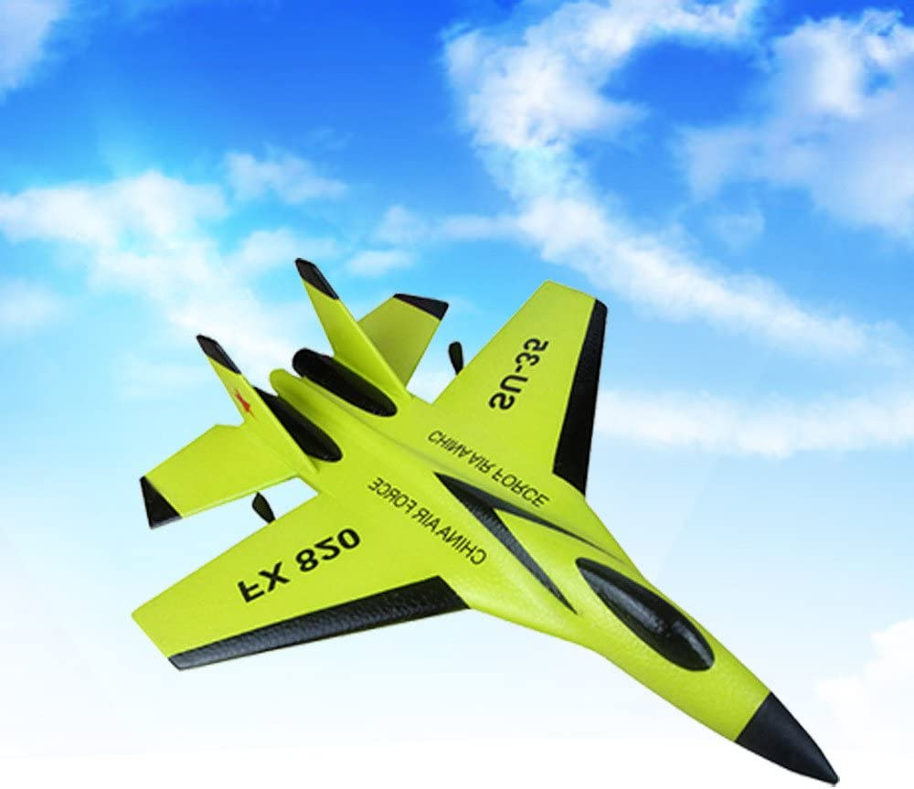 Amazon Com Wotryit Su 35 Rc Remote Channel Remote Control Airplane Rc Plane Drone With 2 4ghz Control Flying Paper Aircraft Toys Indoors Outdoors Easy To Fly Toys Games