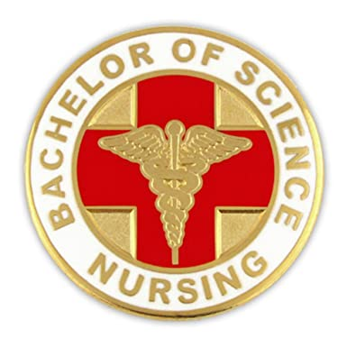 Amazon Pinmarts Bachelor Of Science Nursing Bsn Lapel Pin Jewelry