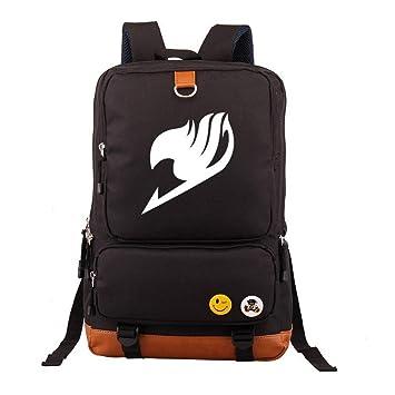 Fairy Tail Mochilas Escolares Mochila para Portátiles Ordenador Mochila de Viaje Bolsa de Senderismo para Mujeres y Hombres: Amazon.es: Equipaje