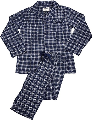 Mens Long Sleeve Flannel Pajamas