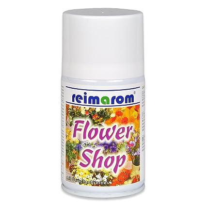 Ambientador Flower Shop para aerosol Aroma dispensador de 250 ml con profesional olor matainsectos