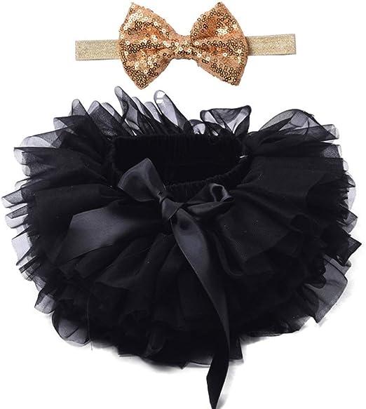 Vivitoch - Falda de tutú para bebé y niña, con cinta para la ...