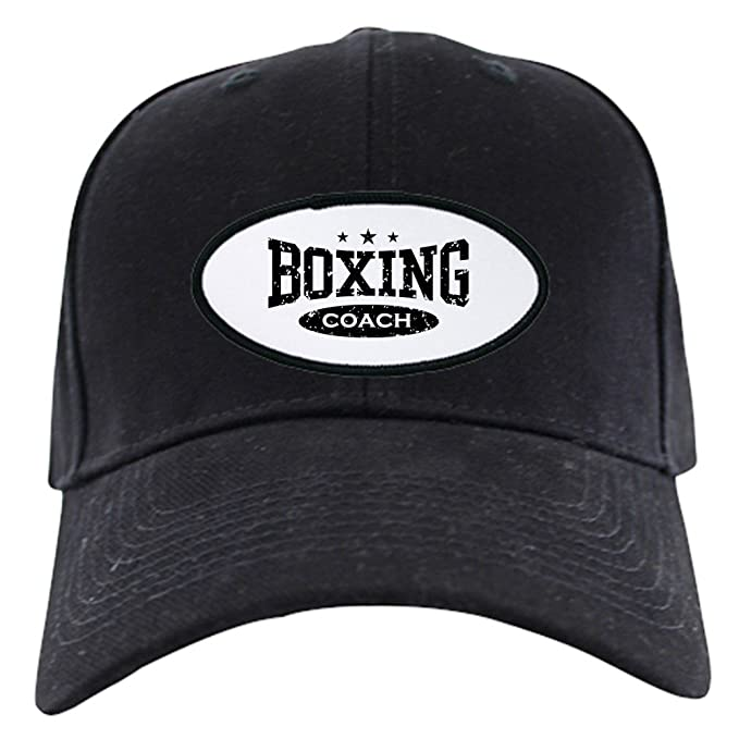 d9b8cafb9ca Amazon.com  CafePress - Boxing Coach - Baseball Hat