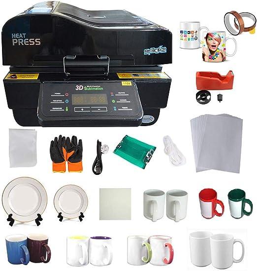Impresora de calor en 3D con impresión de cinta CISS: Amazon.es: Hogar