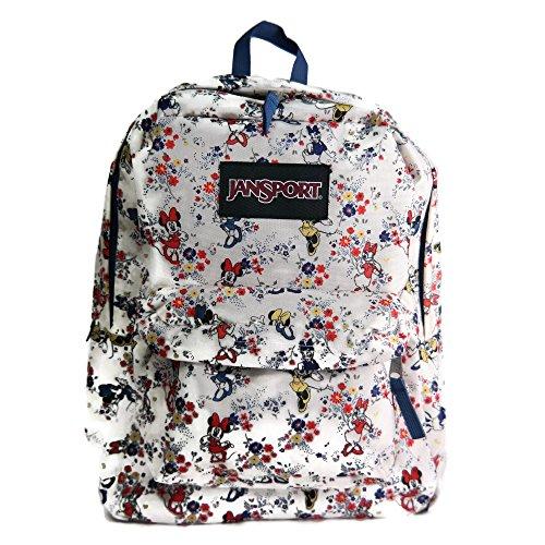 JanSport Disney Superbreak Backpack (One Size, Disney Minnie Tiny Floral)