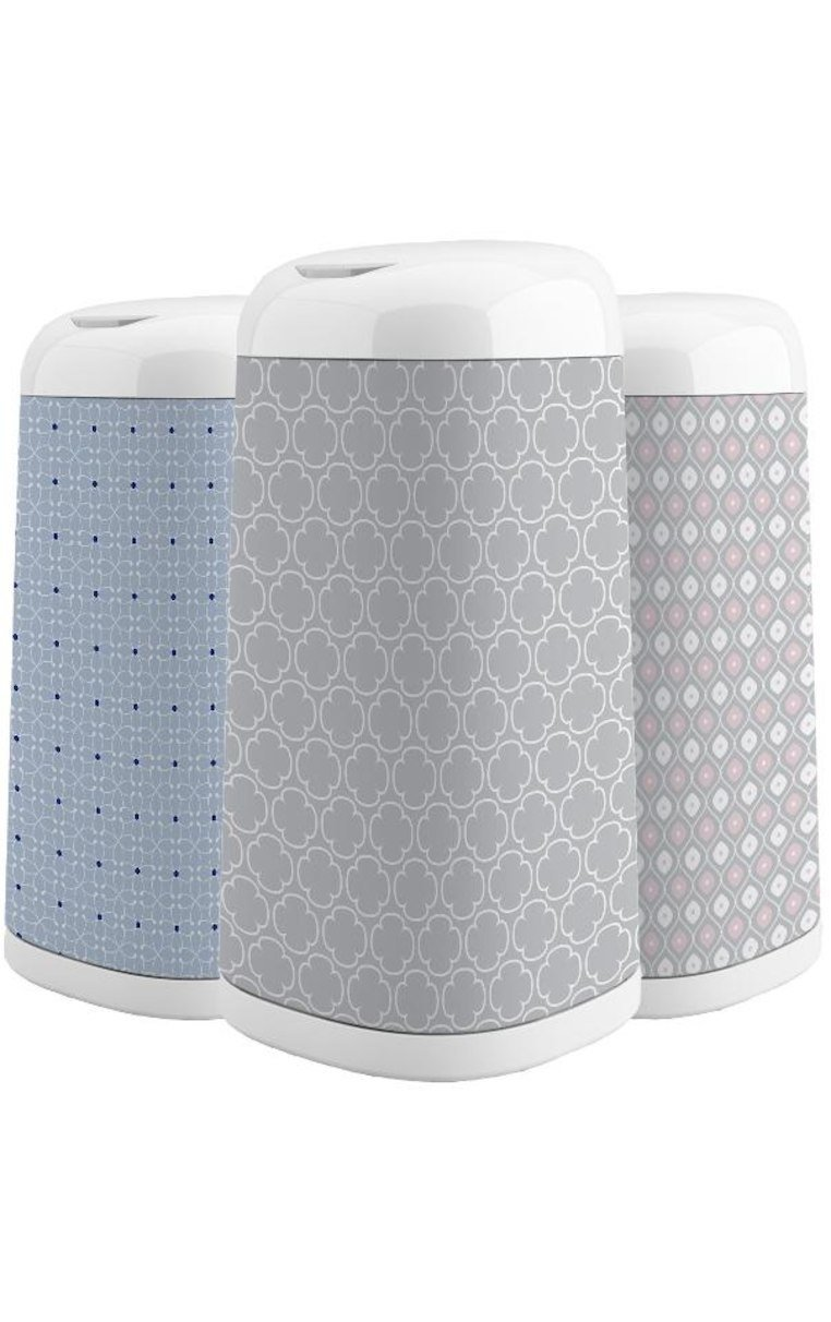Grey Clovers Edgewell Personal Care 10078300019449 Diaper Genie Playtex Expressions Fabric Sleeve