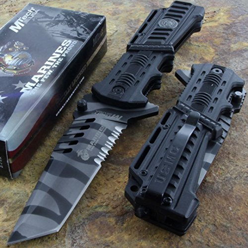 mtech-us-marines-tanto-blade-tactical-survival-rescue-knife-glass-breaker-new