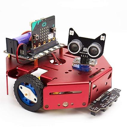 Amazon com: Fiksu Entry Level Programming Robot, DIY Robot