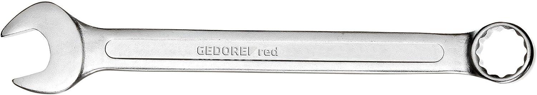Matt-satinierte Oberfl/äche GEDORE red Ring-Maulschl/üssel SW 11 mm Silber Chrom-Vanadium-Stahl