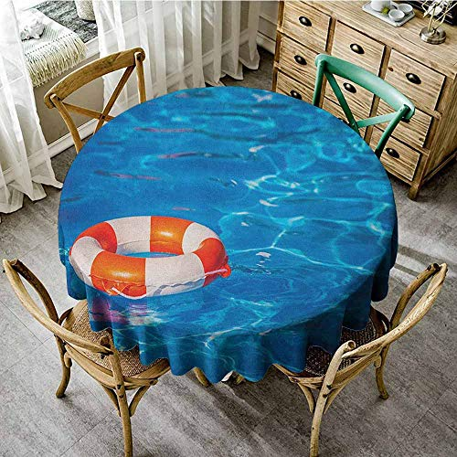 Round Tablecloth and Napkins 70