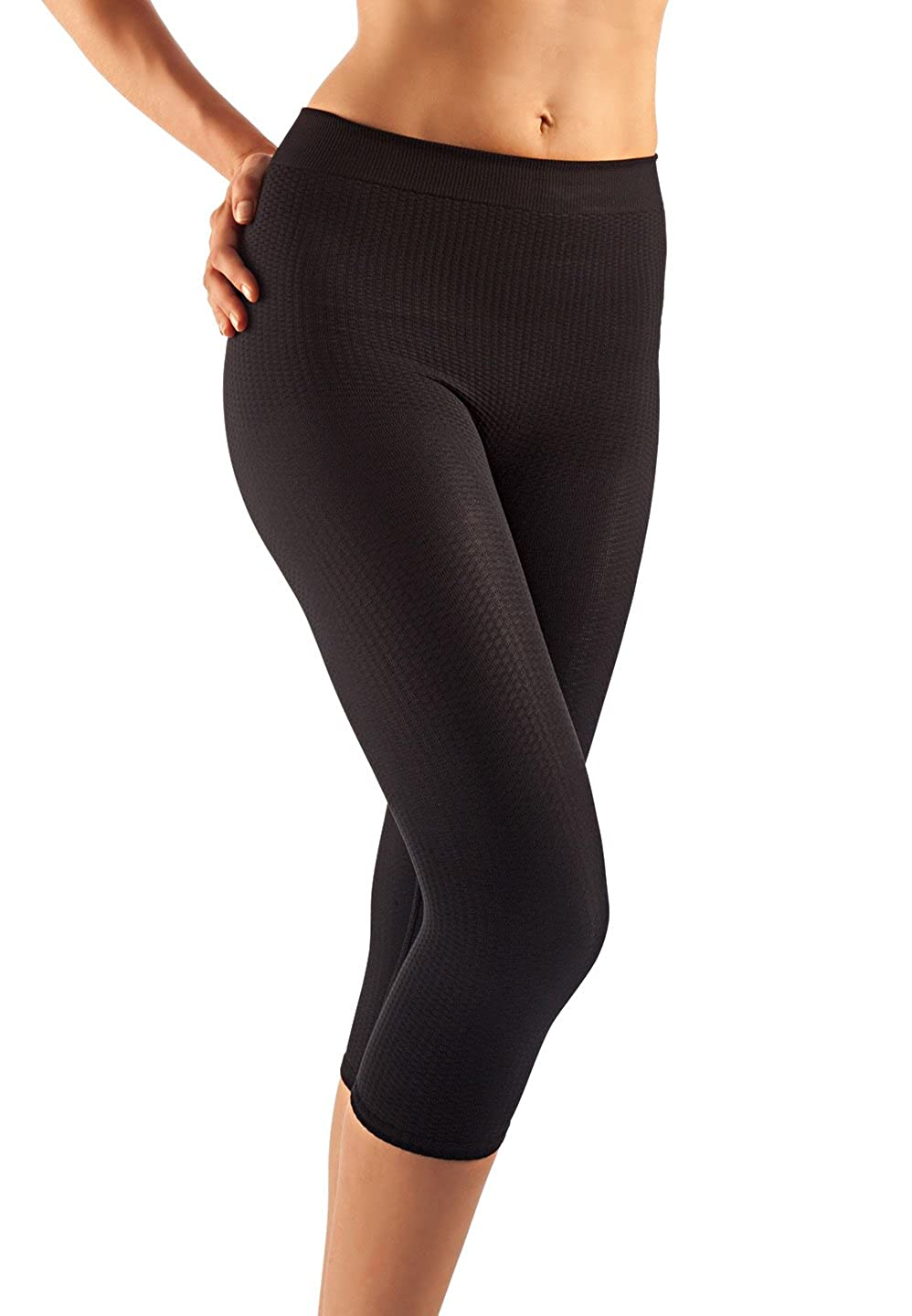 Farmacell 122 Women's Anti-Cellulite micromassage Capri Leggings Farmacell 122 (Black 122FCLFCSI/CONF_0500002