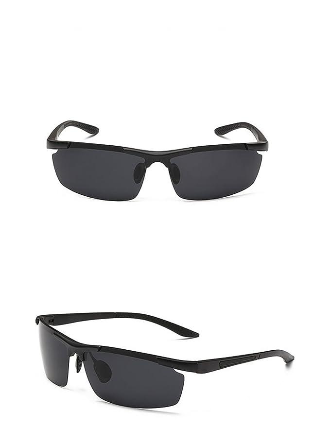 LQABW Männer Fahren Reit Sonnenbrille Polarisierte HD Anti-Glare-Qualitäts-Sportbrillen,E