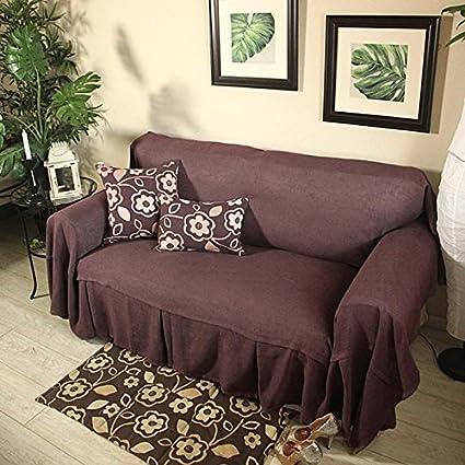 Pure Cotton Ticking Stripe Sofa Slipcover, Soft And Comfortable, Machine  Washable (190200cm,