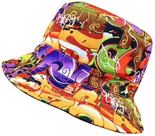 Bucket Hat for Men and Women Cool Breathable 100% Cotton Bucket Summer Sun  Cap bea52dcd85