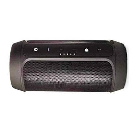 MIMOB Music Edition Charge Two Plus Wireless Portable Mobiles/Tablets Bluetooth Speaker  Black  Speakers