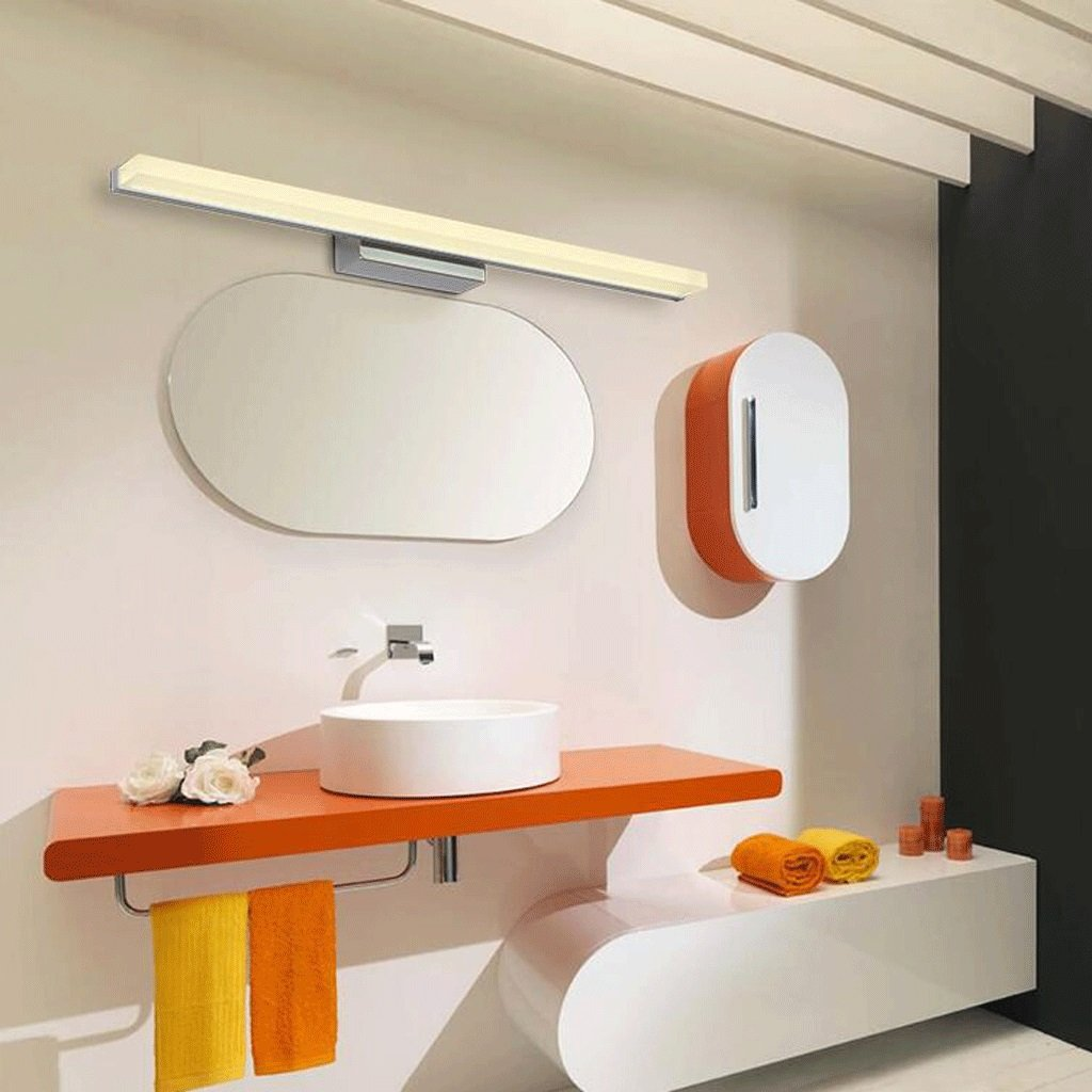 Minimalista Baño Home Cuarto Luces De Qzz Espejo PwO0kn