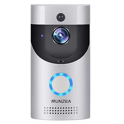 8d12fb4aa426 WiFi Smart Video Doorbell,EwiseeLive Wireless Door Bell Smart home 720P HD  Wifi Camera Security