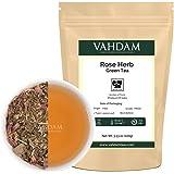 Tè himalayano alle erbe in foglie, 21 erbe ayurvediche indiane miscelate con tè verde di altissima qualità - Un tè disintossicante, energizzante e rinfrescante, dal gusto unico - 50 Tazze