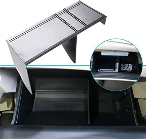 Linfei Car Glove Box Interval Storage For Nissan X Trail 2014 2019 Xtrail T32 Accessories Console Cleaning Central Storage Box Auto