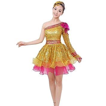 Wgwioo Cuadrado Danza Ropa Mujer Nacional Rendimiento ...