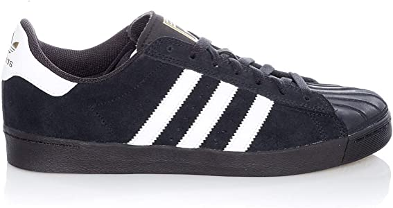 adidas Superstar Vulc ADV core BlackWhiteGold Shoes 43.5 EU