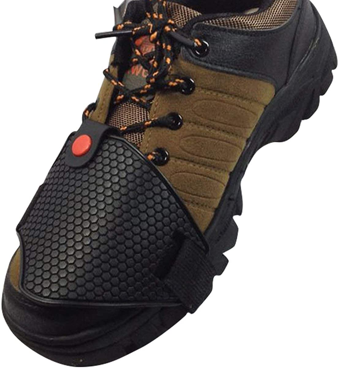 Details about  /Rubber Protective Non-slip Gear Shift Shoe Cover Motorcycle Boots Guard Gear^
