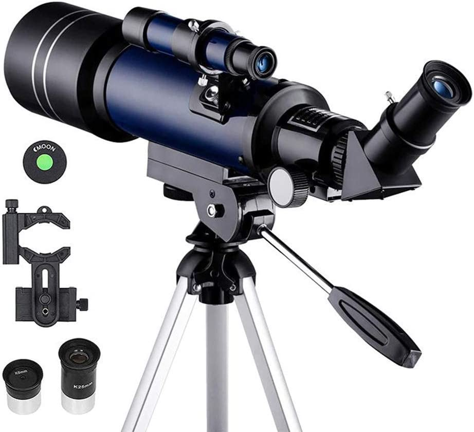 Astronomical Refractor Telescope With Tripod For Beginners Optical Prism JD