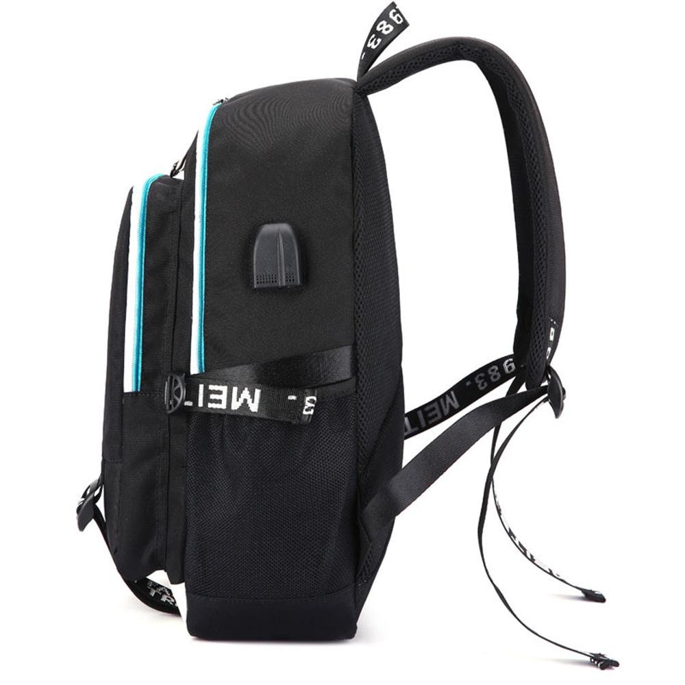 364961b05817 Unisex Fortnite Backpack School Bag With Charging Port And Headset Port For  Boys Girls Kids Water-Resistant Fortnite Backpack USB  Amazon.co.uk   Clothing