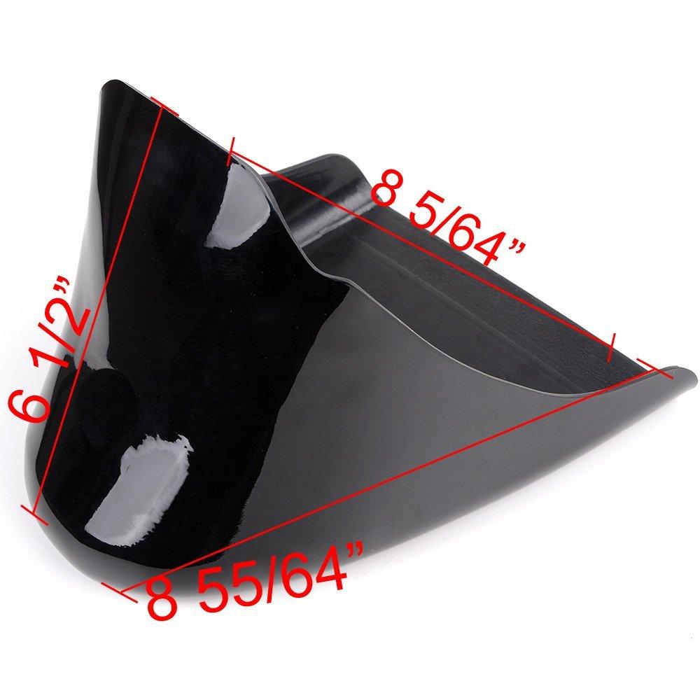 Astra Depot Chin Fairing Front Spoiler Air Dam For Harley 883 1200 XL Sportster Gloss Black