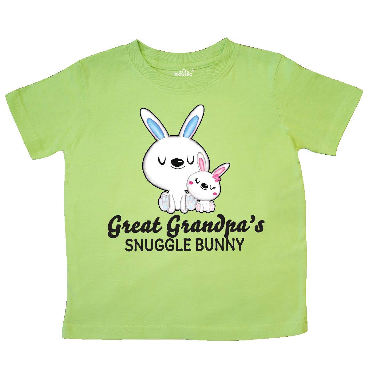 inktastic Great Granpdas Snuggle Bunny Easter Toddler T-Shirt