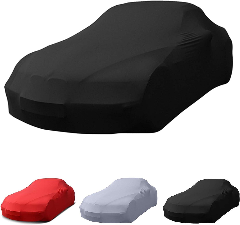 Ganzgarage Für Porsche Innenbereich Stretch Super Soft Extrem Atmungsaktiv Autoplane Autoabdeckung Car Cover Abdeckplane Schmutzabweisend Autogarage Staubschutz Auto