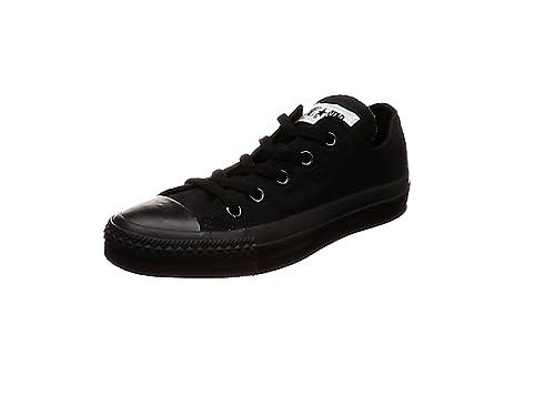 Converse All Star Hi - Zapatillas unisex, Negro (Black), 35 EU