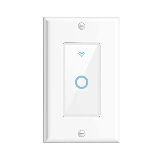 Amazon.com: Smart WiFi Wall Switch Oittm Touch Light Switch Remote ...