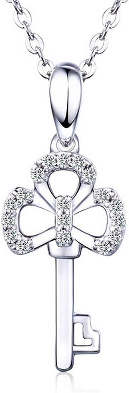 Pendants Necklaces by CS-DB Key Jewelry Silver Womens Jewelry