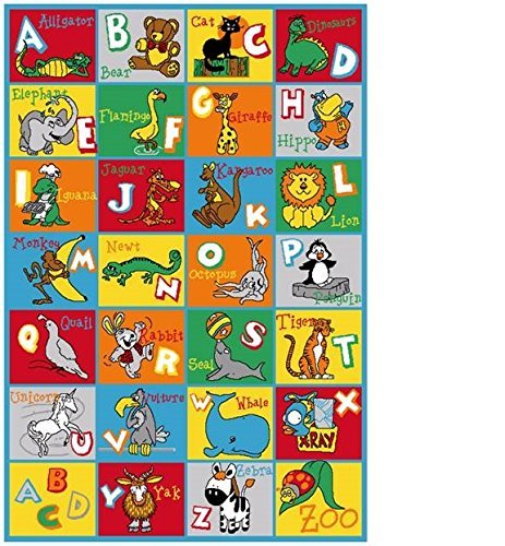Onestopshop's Children Area Rug Carpet Mat In 8ftx11ft Abc