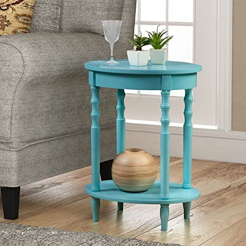 Convenience Concepts Classic Accents Brandi Oval End Table