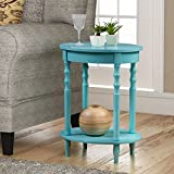 Convenience Concepts 501032SF Classic Accents Brandi Oval End Table, Sea Foam For Sale
