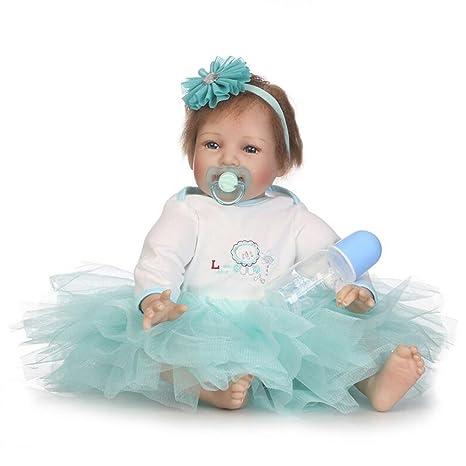 Amazon.com: hmhope realista Reborn bebé muñeca con lindo ...