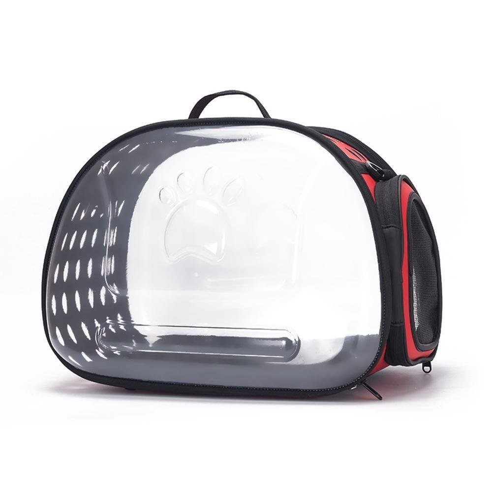 Amazon.com: Daeou Pet backpack Transparent cat bag out carry-on bag cat cage cat tote cat Bag dog shoulder backpack space capsule Pet bag 324229cm Acrylic: ...