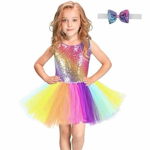 f041f21f62 Tsyllyp Girls Tutu Dress Dance Party Gown Princess Costumes Halloween  Christmas