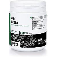 MSM en polvo para Perros y Caballos (500gr)   Azufre de metilsulfonilmetano   Ayuda para las articulaciones de tu…