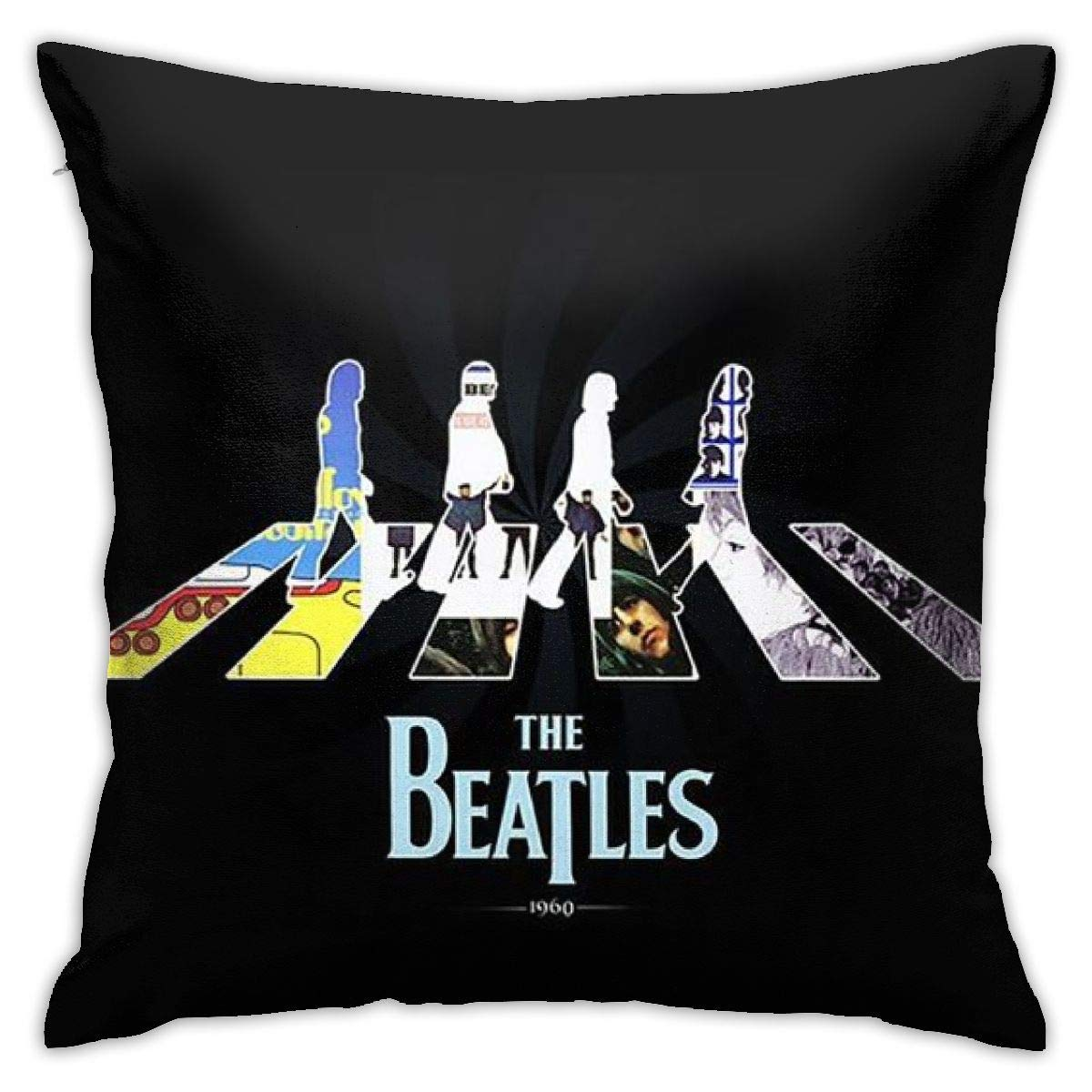 Amazon.com: HHenry The Beatles - Funda de cojín de algodón ...