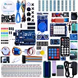 Elegoo UNO R3 Project The Most Complete Ultimate Starter Kit w/ TUTORIAL, UNO R3 controller board, LCD1602, Servo, Stepper Motor for Arduino UNO Project