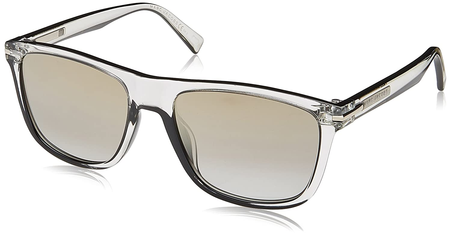 Amazon.com  Sunglasses Marc Jacobs 221 S 0MNG Crystal Black FQ gray sf gold  sp lens  Clothing f6a67c245b25