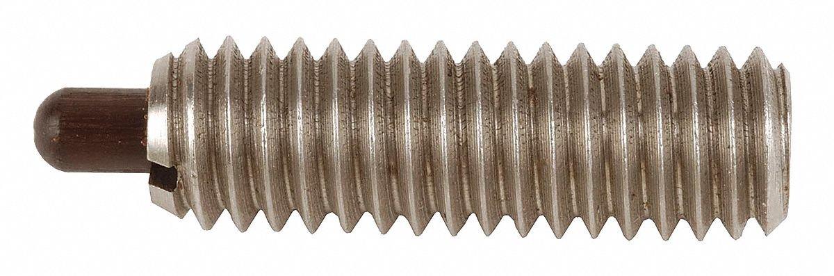 Spring Plunger, HVY, SS, 1/2-13x1 1/4 L, PK5 by TE-CO (Image #1)