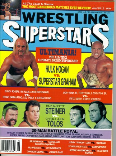 Wrestling Superstars Magazine : Dream Match - Ultimania, the All-Time Ultimate Dream Supercard (June 1992)